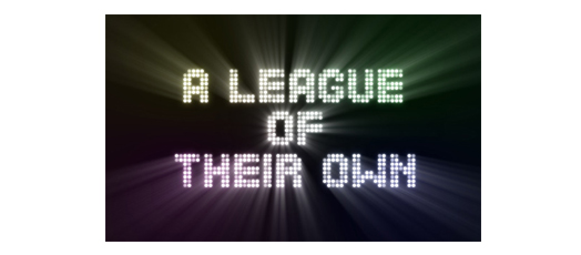 A League of Their Own Logo