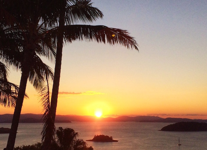 Sunset on Hamilton Island, Australia