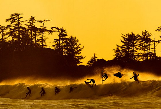 Surfing image