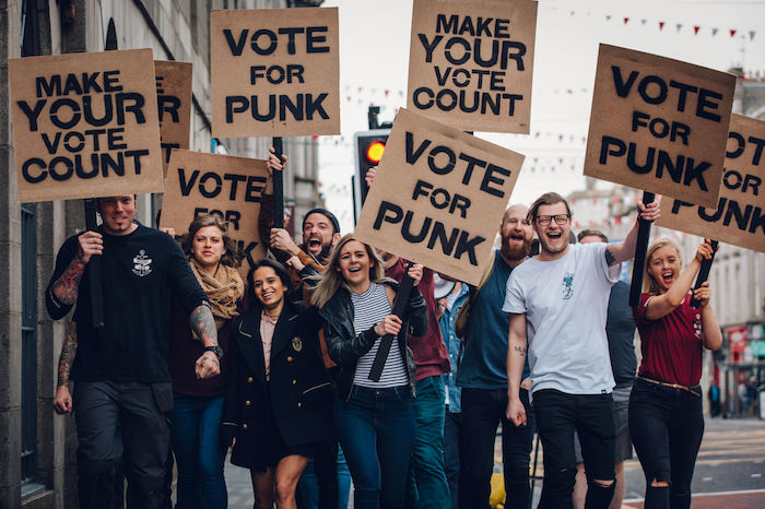 BrewDog Vote Punk campaign