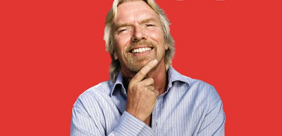 Richard Branson demonstrates great leadership comms