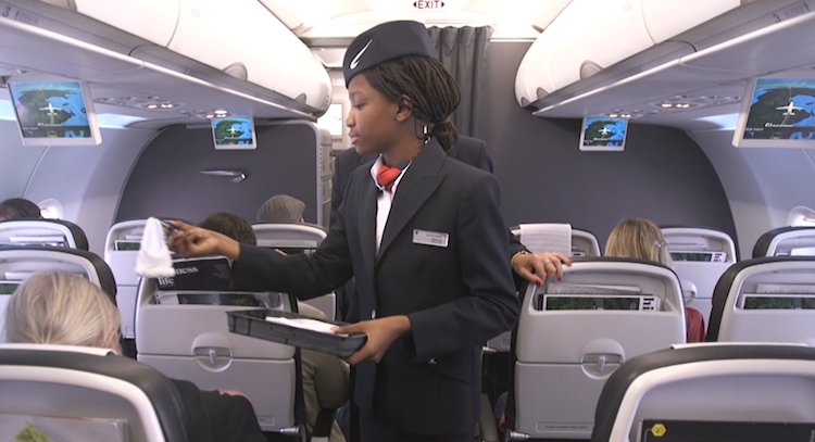 Girl becomes BA hostess for a day as part of BA Magic travel PR campaign