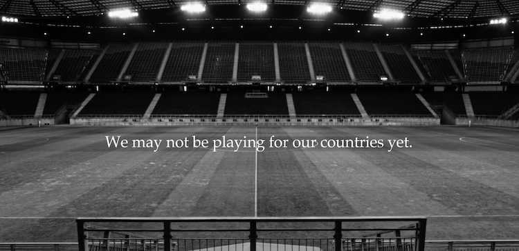Nike Play for the World ad